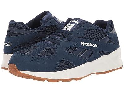 Reebok Lifestyle Aztrek 93 (Collegiate Navy/Chalk) Athletic Shoes