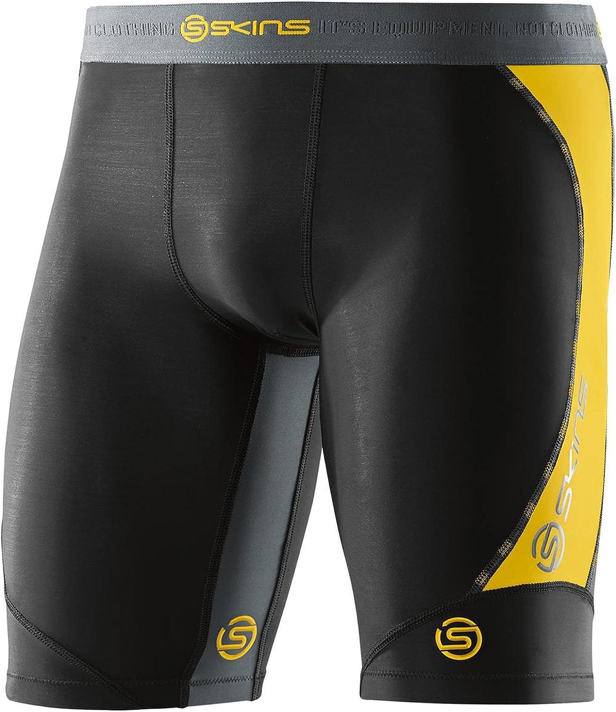 Skins dnamic Force Half Tights Bleu XL df00010022041 kompressionshose Shorts