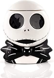 Seven20 Tim Burton's The Nightmare Before Christmas Ceramic Jack Skellington Cookie Jar