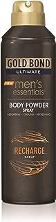 Gold Bond Men's Essentials Body Powder Spray Recharge 7 oz