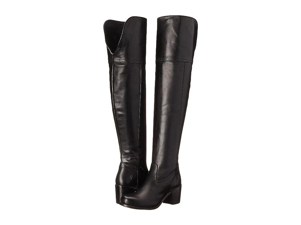 Frye Kendall OTK (Black Smooth Full Grain) Cowboy Boots