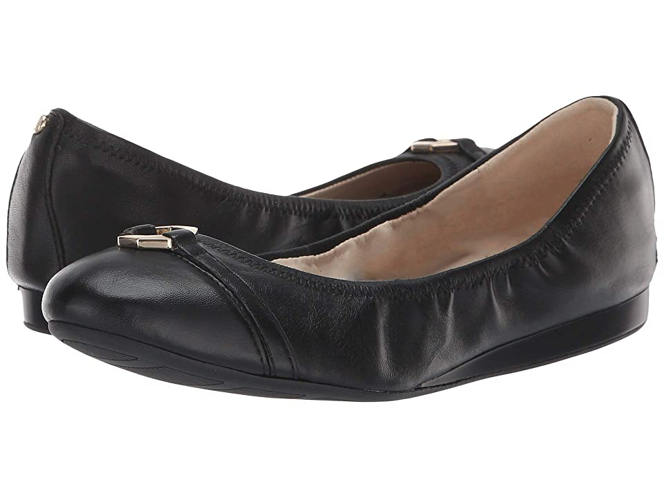 Cole Haan Reese Ballet (Black Leather) Women