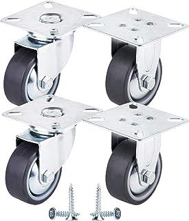 Ruota IN Acciaio Solido Gomma Pneumatico 200 x 50//8  /& Asse Per Rimorchio Ruotino di Appoggio 20mm Diametro