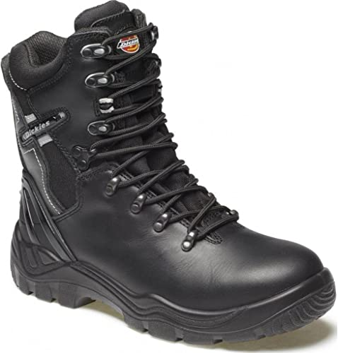 Dickies FD23376-10 - Stiefel de seguridad sin forro, tamaño 10, Farbe schwarz