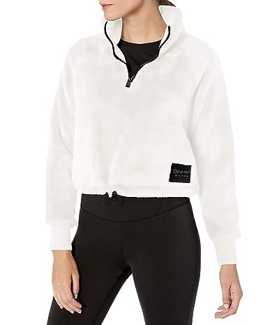 Calvin Klein Raglan Mock Neck Pullover