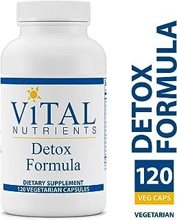 Vital Nutrients - Detox Formula - Specially Designed Formula for Liver and Detoxification Support - 120 Capsules per Bottle