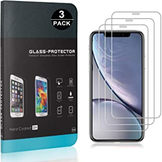 Bear Village® Verre Trempé pour iPhone 11 6.1, sans Poussière, Ultra Transparent, 3D Touch Protection en Verre Trempé Écra...