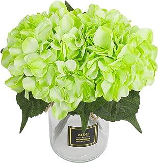 Veryhome Hortensien Künstlicher Seidenstrauß, Blumenstrau�