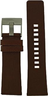 Diesel LB-DZ1618 - Cinturino di ricambio originale DZ 1618, in pelle, 28 mm, colore: Marrone