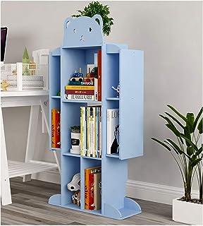 Bibliothèques Bookshelf Solding multicouche bibliothèque étagères armoires Organisateur de meubles pour chambre à coucher,...