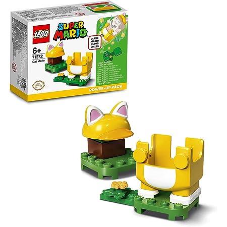 LEGO Super Mario Gatto - Power Up Pack, Espansione, Costume per Pareti da Arrampicata, Giocattolo, 71372
