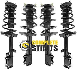Front Pair Quick Complete Strut /& Spring Assembly for 2009-2016 Toyota Venza
