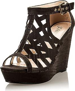 Women's Fashion High Wedge Dress Sandal Shoe