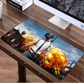 sasdasld Super Large Mouse pad Gamer Gaming Big Mousepad Keyboard Desk Mat for Chicken Dinner Internet Bar Mousemat-400x900mm
