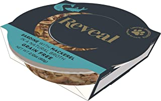 Reveal - Cat Pot | Complementary Cat Food | 2.12oz - 18 Pack - Premium Nutrition, 100% Natural, No Additives, and Limited Ingredients