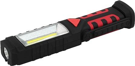HyCell Worklight COB-led 3-in-1 flexibele werkplaatslamp met 3 W COB-led als werklamp, 1 W led als zoeklicht + waarschuwin...