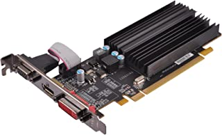 XFX Radeon HD 5450 Graphic Card 650 MHz Core 1 GB SDDR3 PCI Express 2.1 x16 Low-profile 1066 MHz Memory Clock 2560 x 1600 Passive Cooler DirectX 11.0, OpenGL 3.2, OpenCL HDMI DVI (ON-XFX1-PLS2)