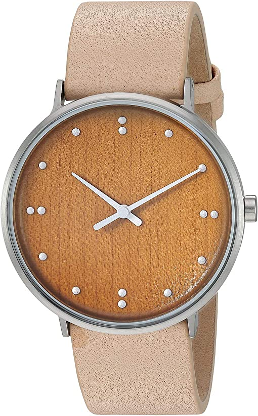 SKW6582 Silver Tan Leather