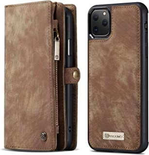iPhone 11 Pro Wallet Case - Detachable Leather Phone Wallet Magnetic Flip Case Shockproof Cell Phone Case with Credit Card...