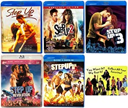 Step Up: Complete Channing Tatum Dance Movie Series 1-5 Blu-ray Collection