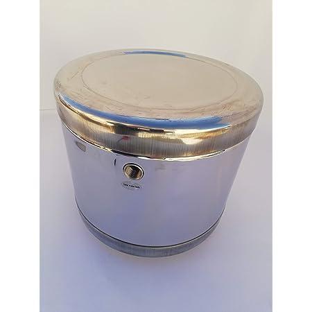 Barilotto inox 18//10 capacità 5 litri Manita Calor per pannello solare termico