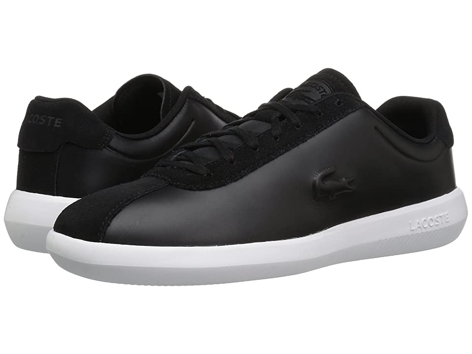 fb99c7e7c5f2 Lacoste Avance 318 2 (Black White) Men