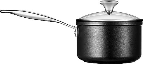 Le Creuset Toughened Nonstick PRO Saucepan With Glass Lid, 2 qt.