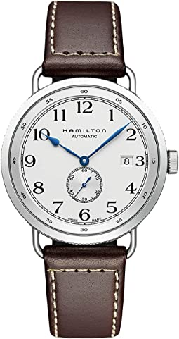 Khaki Navy Pioneer Small Second - H78465553