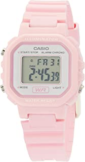 Casio Ladies Pink Digital  La20Wh-4A1 Watch