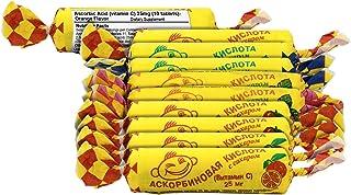 Ascorbic Acid (Vitamin C) with Sugar 10 Tablets (10 Pack) (Variety Bundle)