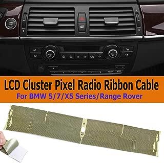 9x4cm Track Dead Pixels Repairs Ribbon Cable For BMW E39 Mid Raido Pixel Repair E38 E39 E53 X5 LCD Instrument Cluster Dashboard