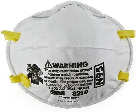 3M 8210, N95  Respirador De Partículas (Paquete De 20)