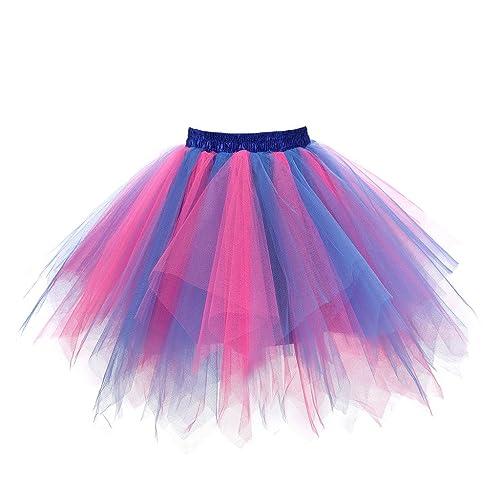 a212e81e40 Musever 1950s Vintage Ballet Bubble Skirt Tulle Petticoat Puffy Tutu