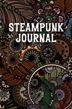 Steampunk Journal: Fantasy College Ruled Composition Diary | Blank Grimoire Lined Notebook | Vintage Victorian Classic Cover