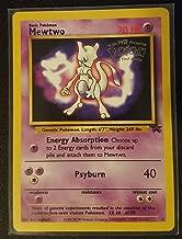 Pokémon - Mewtwo (Pokemon TCG Card) 1999-2002 Pokémon Wizards of the Coast Exclusive Black Star Promos #3