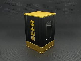 SEER Premium High Strength Magnetic Close Deck Box - Gold Satin Finish