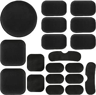 Aoutacc Universal Airsoft Helmet Pads, 19pcs/Set Helmet Replacement Foam Padding Kits Set Accessories Mats for Fast/Mich/ACH/USMC/PASGT Helmet