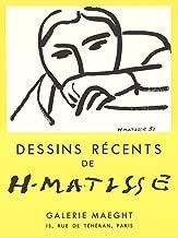 Henri Matisse-Dessins Recents-1968 Lithograph