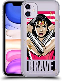Head Case Designs Oficial Wonder Woman DC Comics Valiente