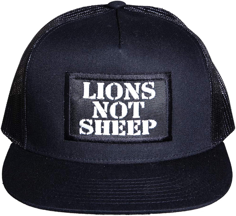 Lions Not Sheep OG Hat - Adjustable Trucker Hats with Snapback