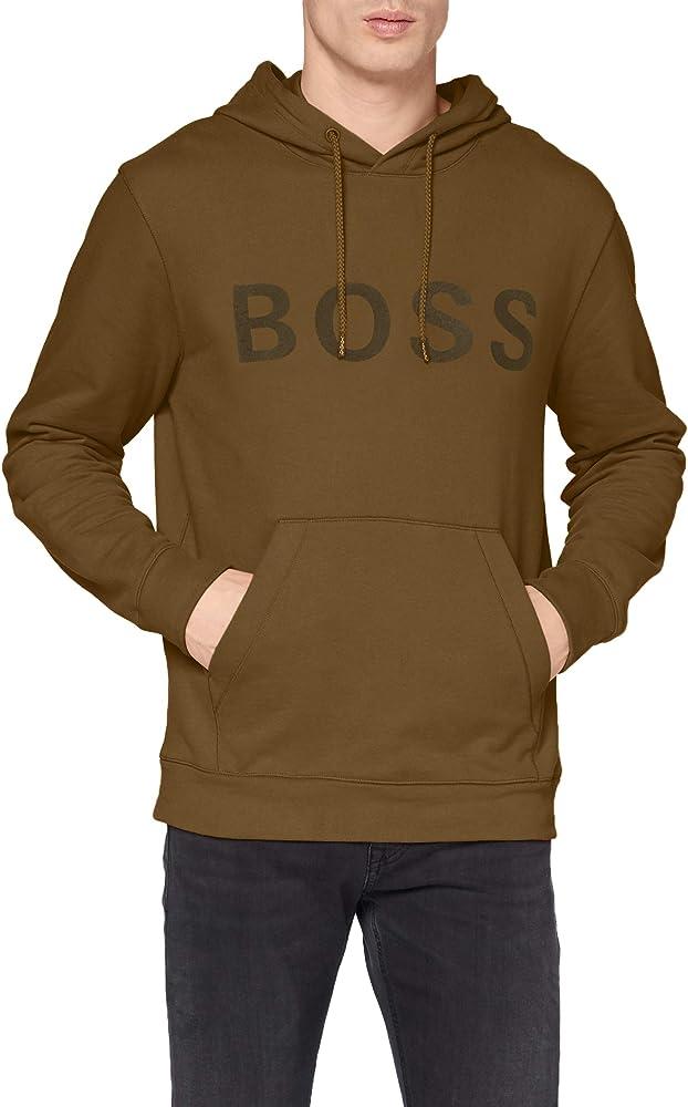 Hugo boss,felpa con cappuccio per uomo,in cotone 83 % 50457951
