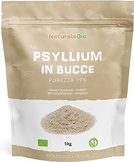 Biologische Psylliumschillen - Zuiverheid 99% - 1 kg. 100% Psyllium husk Bio, natuurlijk en zuiver. Geproduceerd in India....