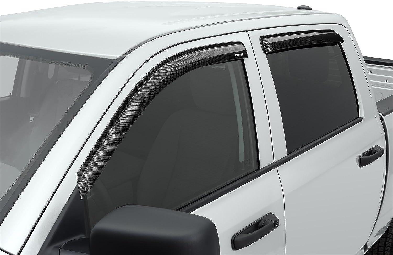 Stampede 610559 Carbon Fiber Black Sidewind Deflector