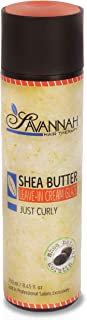 Leave In Cream - Just Curly Collection Treatment - Shea Butter, Cotton and Silk Protein and Vitamin B6 - For Curly Hair. S...