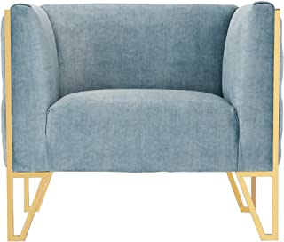 Ceets Vector Accent Chair, Ocean Blue