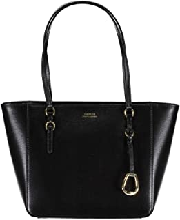 RALPH LAUREN 431687508001 Womens Shopper Handbag, Black