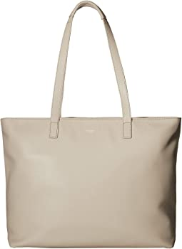 Mayfair Luxe Maddox Top-Zip Leather Tote