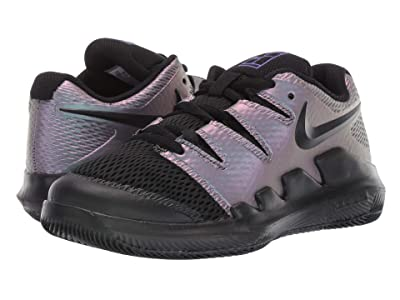 Nike Kids Court Jr Vapor Tennis (Little Kid/Big Kid) (Multicolor/Black/Psychic Purple) Kids Shoes