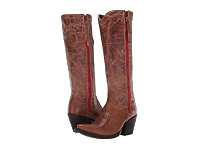 Ariat Giselle (Dark Tan Leather) Cowboy Boots