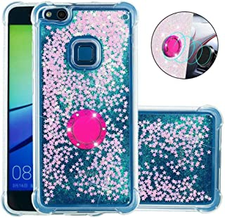 Huawei P10 Lite Case Soft,Hllycr Huawei P10 Lite Back Cover Shock Absorption TPU Rubber Gel #HYYB041700